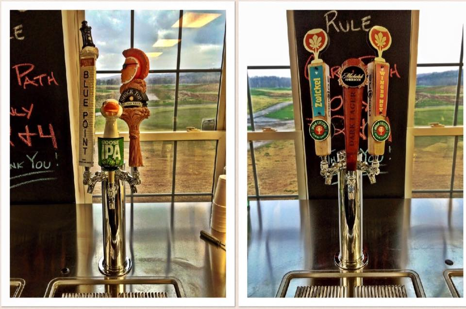 Aberdeen Golf Club bar and grill beer taps